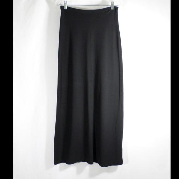 J. Crew Dresses & Skirts - J Crew Long Black Pencil Skirt Maxi